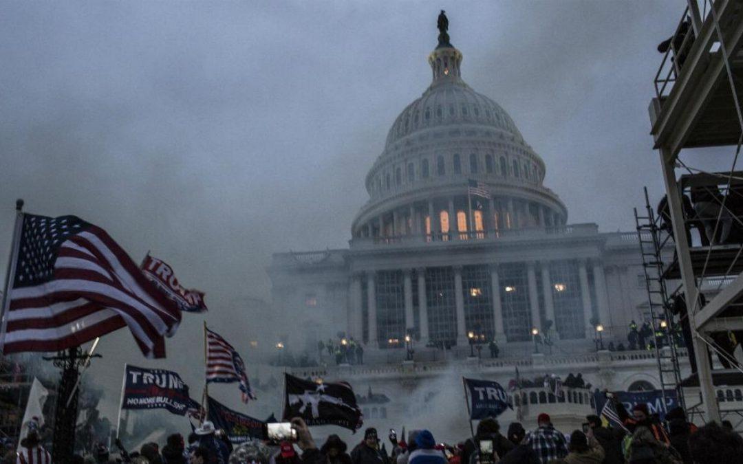 Capitol riot violence